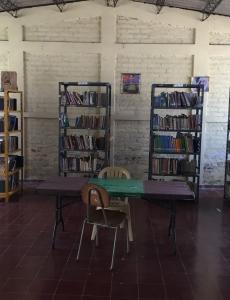 Library in Cinquera
