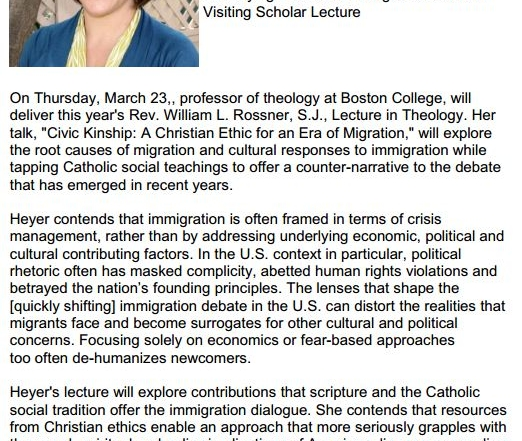 Immigration Lecture