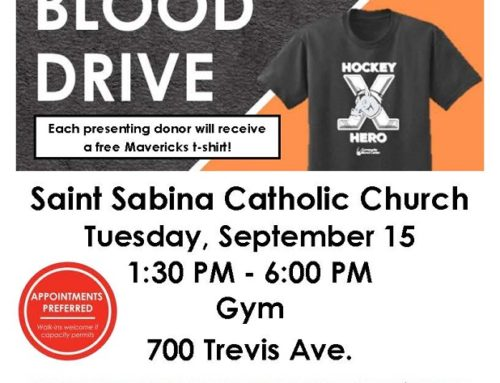 Blood Drive – September 15
