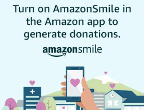 Support Us Through AmazonSmile!