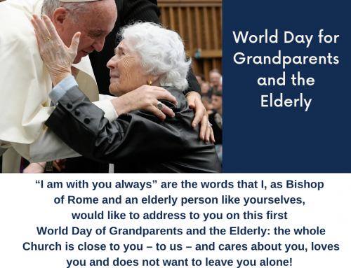 First World Day for Grandparents and the Elderly