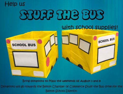 Stuff the Bus – School Supply Drive